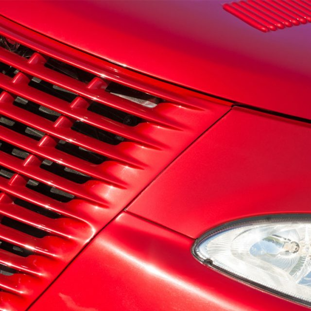 Cherry Red Grille